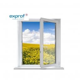Окно ПВХ Exprof 600х600 мм одностворчатое П 2 стеклопакет