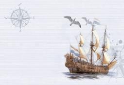 Вставка Уралкерамика Ассоль ВС7АС026 36,4x24,9