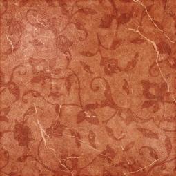 Вставка Coliseumgres Сицилия Красный Листья 45x45