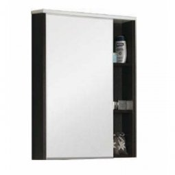 Шкаф-зеркало Aquaton Крит 65 венге