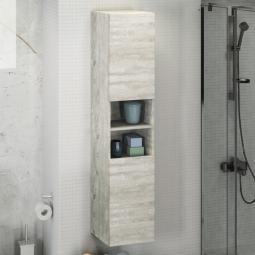 Шкаф-колонна Comforty Верона-35 дуб белый