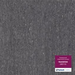 Линолеум коммерческий гетерогенный Tarkett Travertine Grey 3 3 м