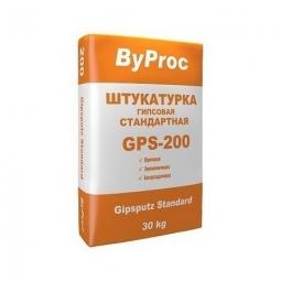 Штукатурка ByProc GPS-200 стандартная гипсовая 30 кг