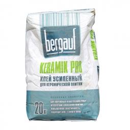 Клей Bergauf Keramik Pro для плитки 20 кг