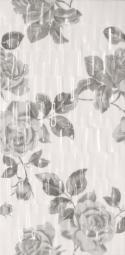 Декор Lasselsberger Фиорди черно-белый 19,8х39,8