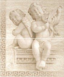 Панно Cracia Ceramica Itaka Beige Panno 01 50x60