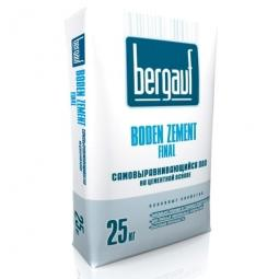 Самонивелирующийся пол Bergauf Boden Zement Final 25 кг