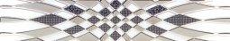 Бордюр Сокол Пульсар 400184 орнамент полуматовый 6х44