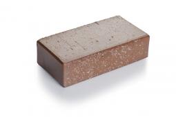 Брусчатка клинкерная «Шоколад флеш» «Тоффи» 100х200х45