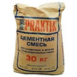 Кладочная смесь Bergauf Praktik М-100  цементная морозостойкая 30кг