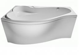 Ванна Eurolux Эфес акриловая с каркасом левая 170х130х45
