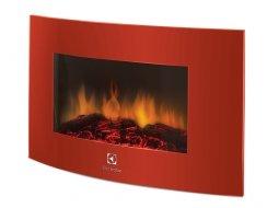 Камин электрический Electrolux EFP/W-1200URLS подвесной красный