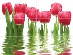 Панно Нефрит-керамика Фреш 06-01-1-64-04-21-160-0 75x100 Розовый