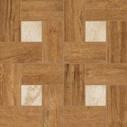 Вставка Italon NL-Wood xани Гламур 45x45 натуральная