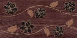 Декор Нефрит-керамика Суздаль 04-04-1-08-03-15-021-0 40x20 Коричневый