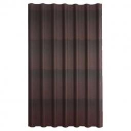 Черепица Ондулин коричневый 1950х960х3