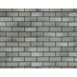 Фасадная плитка Технониколь Hauberk Кирпич Серо-бежеый