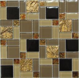 Мозаика Bonаparte Liberty -3 желтая глянцевая 30х30
