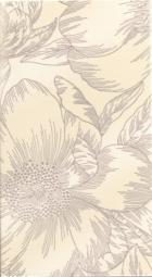 Декор Lasselsberger Готланд Орхидея белый 25х45