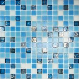 Мозаика Elada Aventurin HK-15 синий микс 32.7x32.7