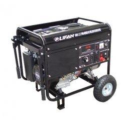 Генератор бензиновый Lifan AXQ1-200A 4000/4500 Вт электрический запуск