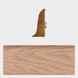 Заглушка торцевая правая (блистер 4 шт.) Т-пласт 079 Дуб Мокко / Дуб Северный