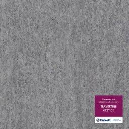 Линолеум коммерческий гетерогенный Tarkett Travertine Grey 02 4 м