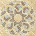 Панно Kerranova Premium marble полированный бежевый 120x120