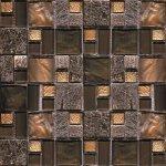 Мозаика Elada Crystal JSM-JB068 античная жатая mix size 32.7x32.7
