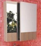Шкаф-зеркало Comforty Ницца 60 Сосна Лоредо