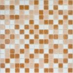 Мозаика Elada Econom на сетке MC125 светло-коричневый микс 32.7x32.7
